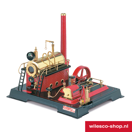 D21 Wilesco Stoommachine (1)